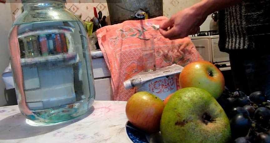 Чача из винограда дома фото