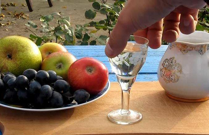 чача из винограда приготовление в домашних условиях фото