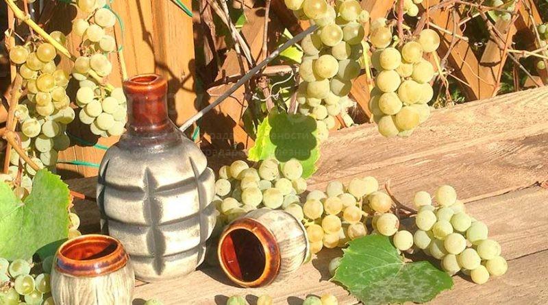 Как сделать самогон из жмыха винограда