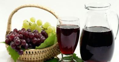 Как приготовить виноградный сок на зиму: простые рецепты