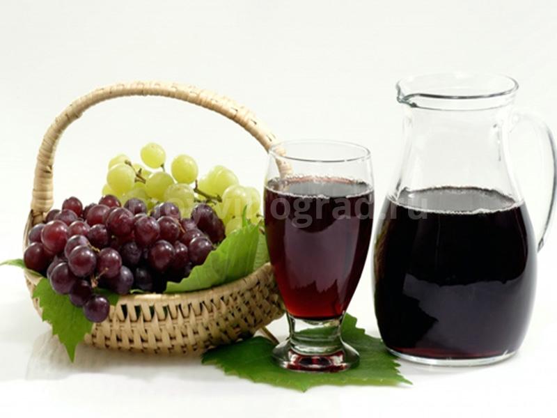 Как сделать домашний виноградный сок фото 884