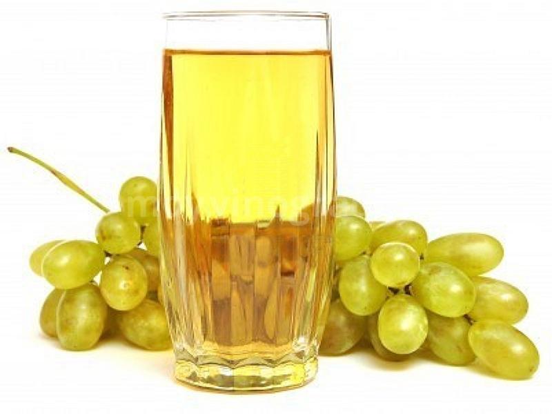 Сок из белого винограда